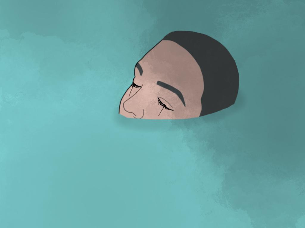 illustrasjon av depresjon