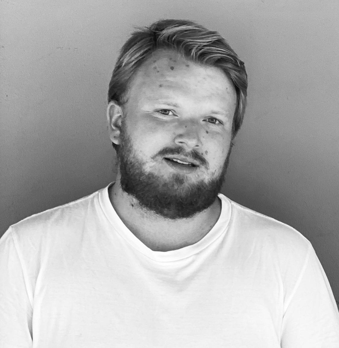 Portrett av Oskar Fjørtoft Sandanger
